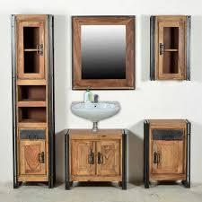 badezimmer komplettset aus sheesham massivholz altmetall 5