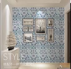 europäische wasserdicht self adhesive wallpaper böhmen wohnzimmer bad küche tapete schälen und stick tapeten wohnkultur
