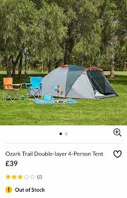 100 Ozark Trail Dome Truck Tent Asda 4 Person Tent Was 39 In WA7 Runcorn For 2500 For