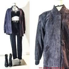 Mens Clothes 90s Clothing Hip Hop VINTAGE Women SUEDE JACKET