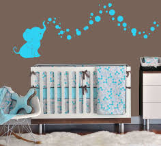 Brown And Blue Bedding by Elephant Bubbles Nursery Wall Decal Set Great Shower Gift Nursery