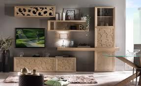 tv wohnwand mit türe schubladen hängvitrinen und brett wohnwand tv made in italy aus holz neu für schöne wohnzimmer