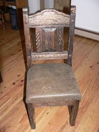 Buy Hand Made Reclaimed Oak Mission Style Dining Chairs With ...