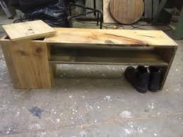diy pallet shoe rack with storage pallet furniture plans
