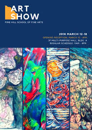 Art Show School Poster
