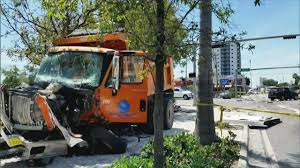Driver Of Miami Dump Truck Involved In Crash On Paid...