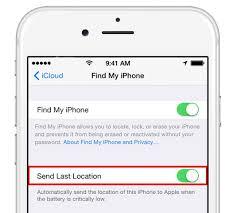 Enable Send Last Location on iOS 8