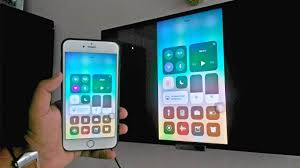 Screen Mirroring with iPhone iOS 11 Wirelessly No Apple TV
