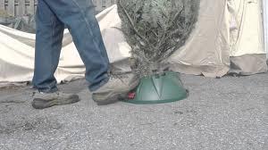 Swivel Straight Christmas Tree Stand Instructions by Krinner Christmas Tree Stand Demo Youtube