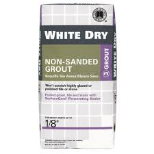 Acrylpro Ceramic Tile Adhesive Sds by Custom Building Products White Dry 5 Lb Non Sanded Grout Wdg5