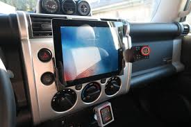 Show Off Your Tablet Mounts - Toyota FJ Cruiser Forum Ipad Iphone Android Mounts From Ipod And Mp3 Car Adapter Kits Accsories Ivapo Headrest Mount Seat Cars Seats Scion Tc Diy Incar Mount Apple Forum My Chevy Tahoe With Its New Ram Gallery Article Ipad Install Into Dash 99 F250 Ford Truck Enthusiasts Forums Ibolt Tabdock Flexpro Heavy Duty Floor For All 7 10 Holder 2 Thesnuggcom Canada Wall Tablet Display Stand Stands Enterprise Series Get Eld The Scenic Route Handy Mini Addons Wwwtrailerlifecom