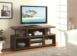 Coaster Curio Cabinet Assembly Instructions by Coaster Tv Stands Casual Tv Console With Open Storage Prime