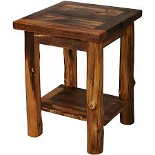 Endearing Rustic Side Table With Pallet Wood Tables Furniture Diy