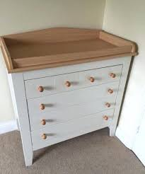 Baby Changer Dresser Unit by Precious White Baby Changing Unit With Drawers Design Table Linens