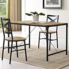 Madeline Angle Iron And Wood Dining Table Joss Main Labor Day Sale