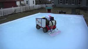 Kid's Zamboni - YouTube Backyard Ice Rink Without Liner Outdoor Fniture Design And Ideas Best Backyard With Zamboni Youtube How To Make A Resurfacer Zamboni Ice Rink Flooder Rinkwater Hasslefree Building Products 100 Resurfacer Rinks Build A Home Bring On The Hockey Redneck Pictures Nhl Builders Tackled Gillette Project Icy Efficiency Brackets Maintenance By Iron Sleek