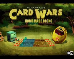 Card Wars Board Game Home Made DecksFeaturing Finn And Jake