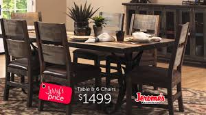 Jeromes Furniture Easter Dining