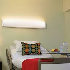 wall mounted lighting hospital led unity visa lighting