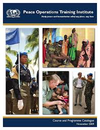 Nmci Help Desk Norfolk by Peace Operations Training Institute Course U0026 Programme Catalogue