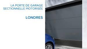 porte de garage sectionnelle motorisée londres 640861 castorama