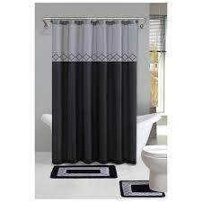 Chevron Print Bathroom Decor by Bathroom Awesome Grey Shower Curtain For Bathroom Decoration
