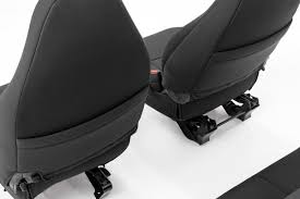 Black Neoprene Seat Cover Set For 97-02 Jeep Wrangler TJ [91000 ...