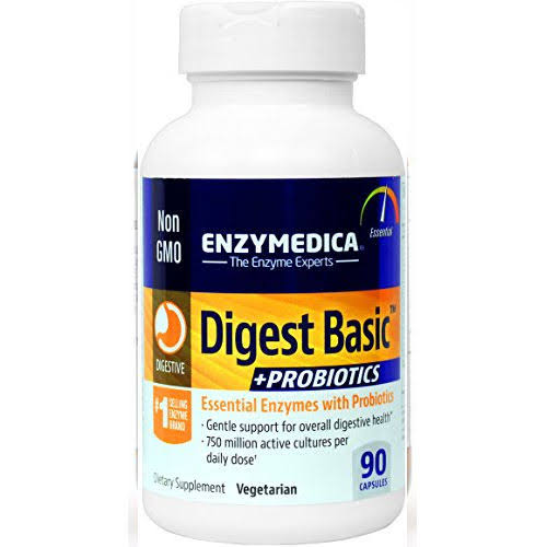 Digest Basic Probiotics Dietary Supplement - 90 Capsules