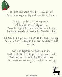 Best 25 Elf goodbye letter ideas on Pinterest