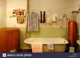 badezimmer aus den 1950er jahren eine volks heim sauna