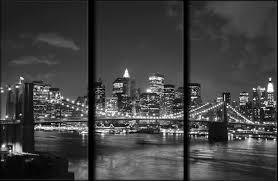 tableau new york toile photo eu