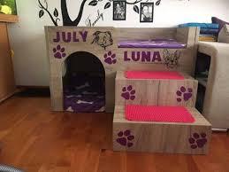 selbstgebaute hundehütte