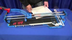Superior Tile Cutter Wheel by Ishii Big Clinker Blue Tile Cutters Youtube
