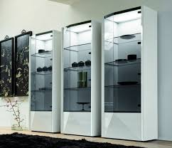 Excellent Glass Curio Cabinets Ikea M35 For Home Decoration Ideas Designing With