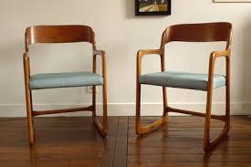 chaise traineau baumann sièges meubles et décoration vintage