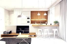 cuisine sur salon modele cuisine blanche drawandpaint co