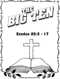 Beautiful Ten Commandments Coloring Sheets Ideas New 10 Page