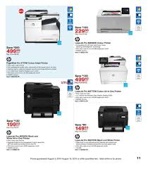 Staples Color Printing Cost Per Page Flyer August 03 To 16