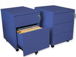 caisson metallique de bureau caissons en métal bleu achat caissons en métal bleu pas cher