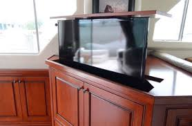 Gorgeous Sea Ray Boat Interior with Hidden TV Lift