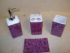 great share bathroom accessories zebra print bathroom