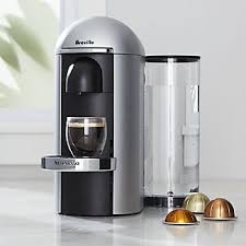 Nespresso R By Breville Vertuo Deluxe Plus Silver Coffee Maker
