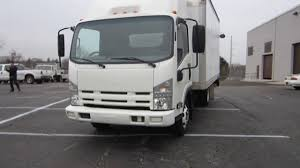2011 ISUZU NPR 14' BOX TRUCK ** 3.0L DIESEL ** POWER LIFTGATE ...