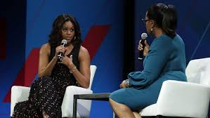 Michelle Obama Empty Chair by Michelle Obama Oprah United State Of Women Summit Pret A Reporter