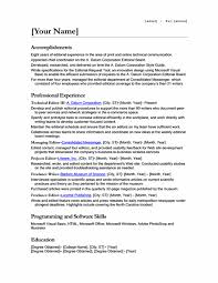 Multiple Positions Same Company Resume Example