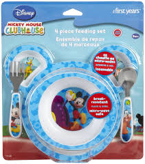 Mickey Mouse Potty Chair Amazon by Mickey Mouse 4 Pc Feeding Set Potty Training Concepts