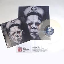 Halloween Jamie Lee Curtis Death by John Carpenter And Alan Howarth Halloween Ii Ost Clear Vinyl