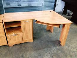 DeskRustic Office Desk For Two Writing Modular Off