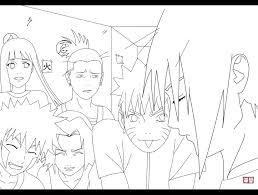 133 Dessins De Coloriage Naruto à Imprimer Sur LaGuerchecom Page 14