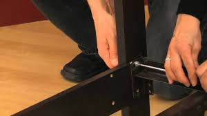 Bed Frame With Headboard And Footboard Brackets by How To Attach A Headboard To A Metal Frame Youtube
